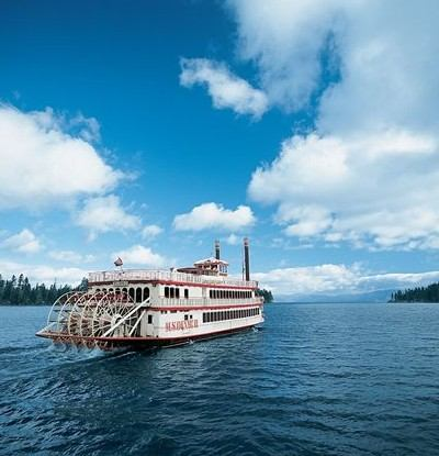 Set sail on the MS Dixie II paddlewheeler from Zephyr Cove to Emerald Bay. Photo Credit: Lake Tahoe Cruises   Zephyr Cove Resort