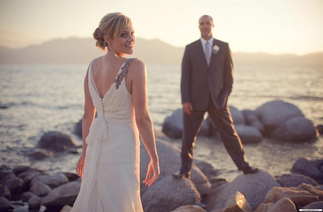 zephyr cove wedding picture