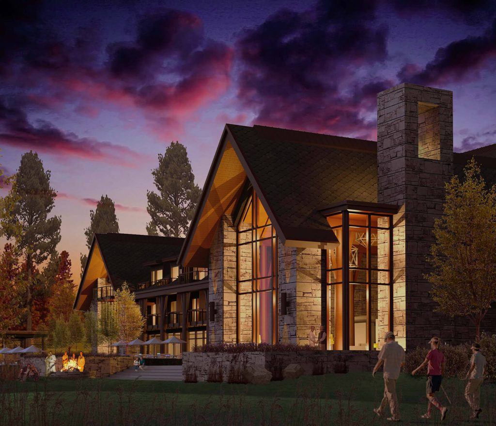The rustic and luxurious Lodge at Edgewood Tahoe opens June 2017 in Tahoe South. Photo Credit: Edgewood Tahoe Photo Credit: Edgewood Tahoe