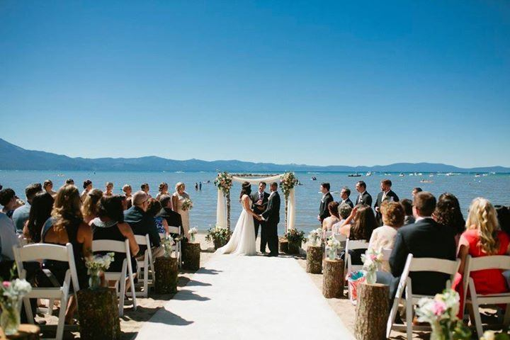 Mountain Weddings at Beach Retreat & Lodge at Tahoe