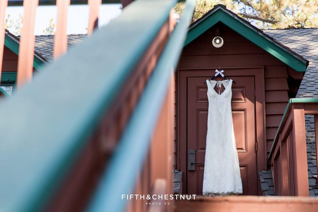 lake tahoe wedding bridal changing room