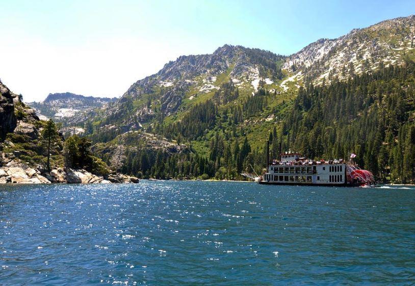paddle boat cruise on lake tahoe
