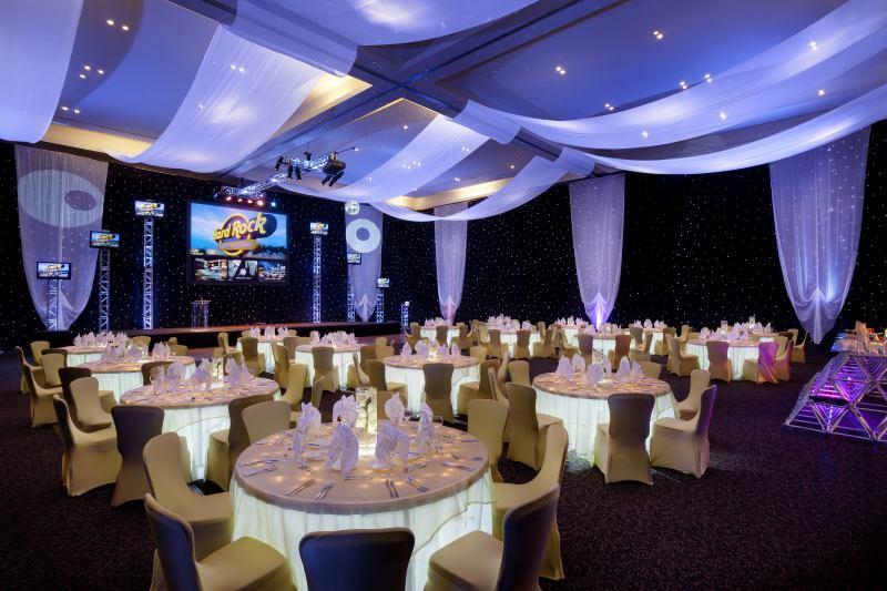 reception room at hard rock hotel & casino lake tahoe