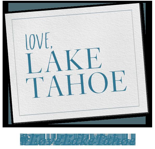 Love Lake Tahoe hash tag