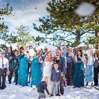winter wedding in lake tahoe
