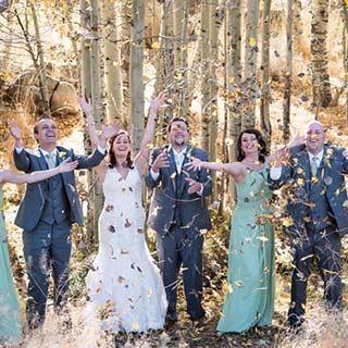 fall wedding in tahoe