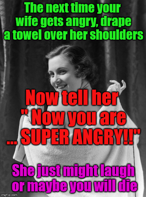 super angry wife meme