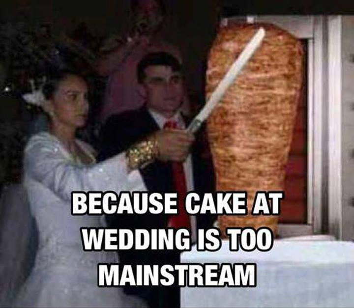 wedding cake meme