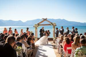 Lakeside Wedding at Lake Tahoe Resort Hotel
